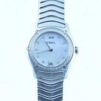 Ebel Classic Wave Damen Uhr 25mm Quartz Stahl/stahl Perlmutt...