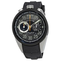 Bomberg 1968 Black Dial Men's Chronograph Watch