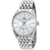 Oris Artix Silver Dial Stainless Steel Men's Watch...