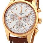 "Breitling ""TransOcean"" Chronograph Strapwatch."