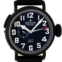 Zenith Pilot Type 20 GMT Titan Black Automatik 48mm