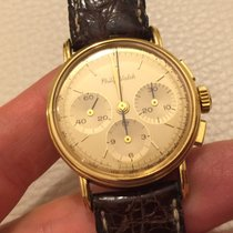 Philip Watch Lemania Gold oro manual manuale vintage chrono...
