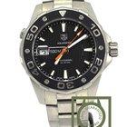 TAG Heuer Aquaracer 500M diver rotating bezel WAJ1110BA0870 NEW