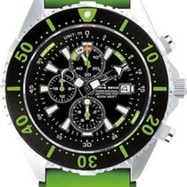 Chris Benz Depthmeter Chronograph 300m CB-C300-G-KBG Herrenchr...