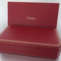Cartier Uhren-Etui für Lederbanduhr mit Umkarton und Service-H...