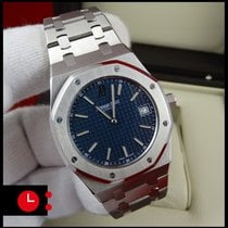 Audemars Piguet Royal Oak Jumbo, Blue Dial, Boutique Edition...