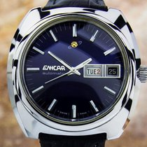 Enicar Swiss Made Auto Ss Men's Collectible 70s Watch Tk21