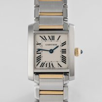 "Cartier Tank Française ""Lady's Gold & Steel"""