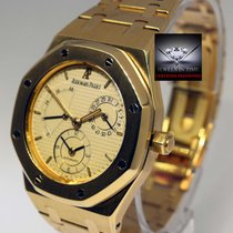 Audemars Piguet Royal Oak Dual Time Power Reserve 18k Gold...