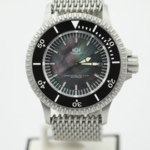 RGM Roland G. Murphy Model 300 Black Mop Dial Diver Watch 300...
