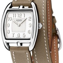 Hermès Cape Cod Tonneau Quartz Small PM 042799ww00