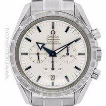 Omega stainless steel Broad Arrow Speedmaster Chronograph