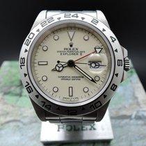 Rolex EXPLORER 2 16550 CREAMY DIAL – unisex watch – around 1987