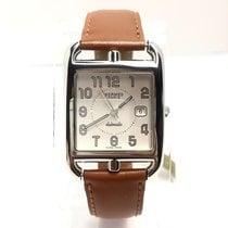 Hermès Cape Cod Pm Stainless Steel Luxury Ladies Wrist Watch...