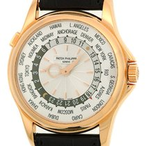 "Patek Philippe Gent's 18K Rose Gold  # 5130 ""World..."