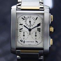 Cartier 18K GOLD & SS CHRONOGRAPH 2303
