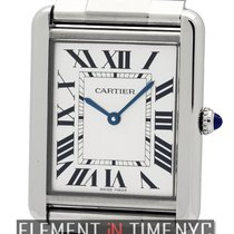 Cartier Tank Collection Tank Solo Large 27mm Stainless Steel...
