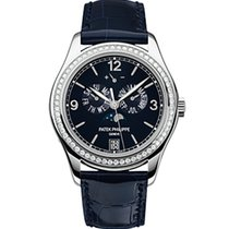 Patek Philippe 5147G Annual Calendar Moon Phase with Diamond...