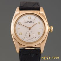 Rolex Oyster Perpetual Bubble Back ref.3130 Rose Gold Automatic