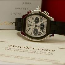 Cartier Roadster Cronografo Ref. W6206020 MAI INDOSSATO