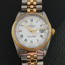 Rolex Datejust  18k yellow gold and stainless steel Ref.15223