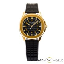 Patek Philippe 5065J Jumbo Aquanaut rubber strap and gold...