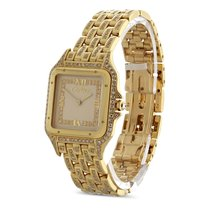 Cartier Men's Panthere in 18k Yellow Gold with Factory...