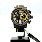 "Graham Silverstone Stowe ""Yellow"", Black Carbon Dial"
