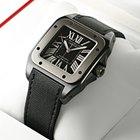 Cartier Santos 100 XL Chrono Black Titanium Watch