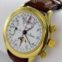 Sinn 6026 Pl Chronograph Herren Uhr Automatik Mondphase
