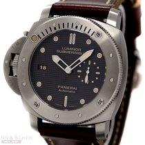Panerai Luminor Submersible Left Handed PAM 569 Titanum Box...