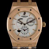 Audemars Piguet 18k R/G Royal Oak Dual Time B&P 26120OR.OO...