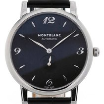 Montblanc Star Classique 39 Black Dial Automatic Small Second