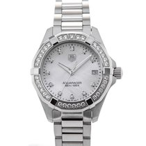 TAG Heuer Aquaracer Lady Quartz 32 Mother of Pearl Dial Full...