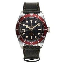 Tudor HERITAGE BLACK BAY Aged Leather Red Bezel Steel 79220 R