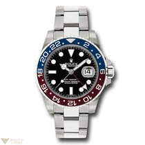 Rolex Oyster Perpetual Date GMT-Master II 18K White Gold &...