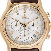 Ebel 1911 Chronograph 18kt Gelbgold Automatik Chronometer...