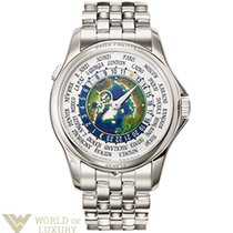 Patek Philippe Complications 39,5mm Platinum World Time...