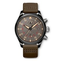 IWC Pilots Top Gun Chronograph  Anthracite Dial Automatic...