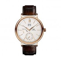 IWC Portofino Hand-Wound Big Date IW516102 Rose Gold Watch