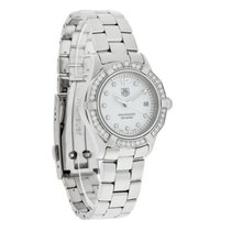 TAG Heuer Aquaracer Ladies Diamond Swiss Quartz Watch WAF1416....