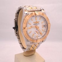 Breitling Galactic C37330 36mm 18k Rose Gold & Steel Mop Dial