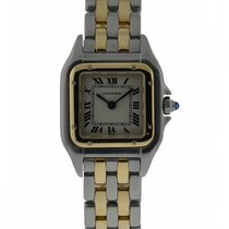 Cartier Panther 2 Tone Small Size Stainless Steel And 18kt...