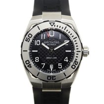 Hamilton Khaki Navy Sub Stainless Steel Black Automatic H78615335