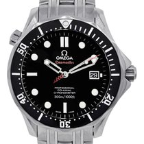 Omega James Bond Seamaster Limited Edition Stainless Steel Watch