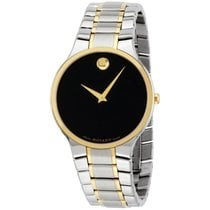 Movado Men's Swiss Serio Two-tone Pvd Stainless Steel...