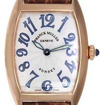 Franck Muller Cintree Curvex Ladies Watch 1752 Silver Guilloch...