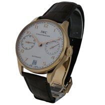 IWC IW500113 Portuguese 7 Day Automatic in Red Gold - Red Gold...