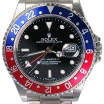 "Rolex GMT-Master II 16710 Men's 40mm ""Pepsi"" Blue..."