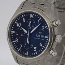 IWC Flieger Chronograph Ref. 371701 Full Set Box & Papers...